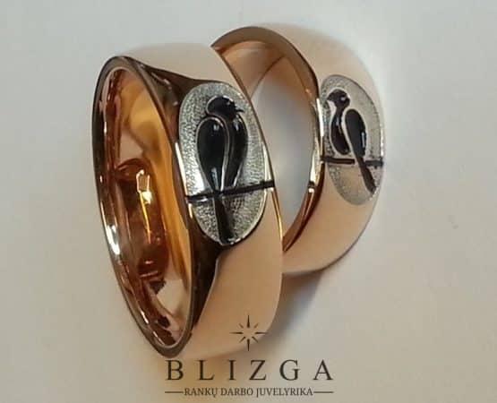Vestuviniai žiedai Ferrum