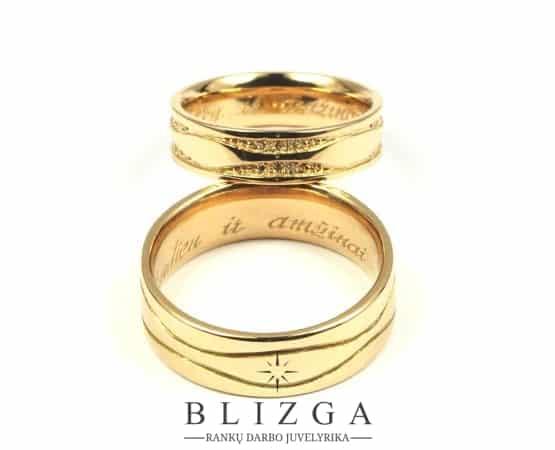 Vestuviniai žiedai Ferri