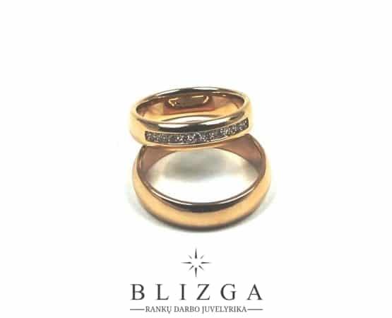 Vestuviniai žiedai Feles