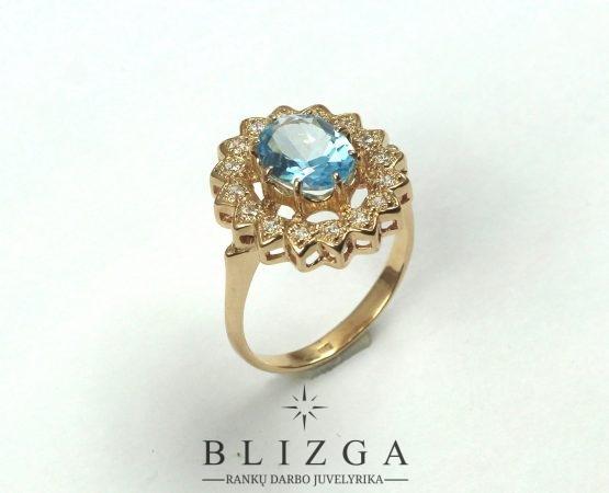 Moteriškas žiedas