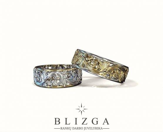 Iulius vestuviniai žiedai