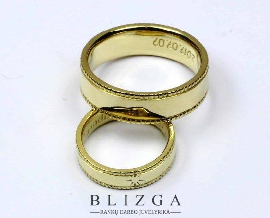 Vestuviniai žiedai Archangelus duo