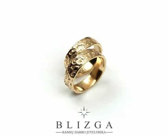 vestuviniai žiedai Borealis duo
