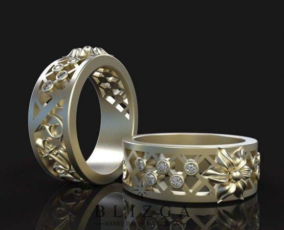 vestuviniai žiedai Boreas