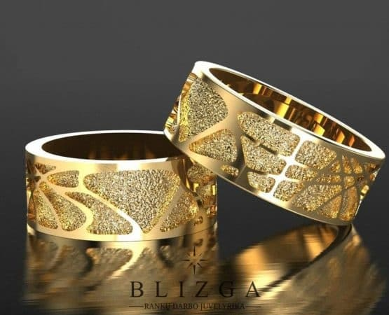 Vestuviniai žiedai Caeruleus