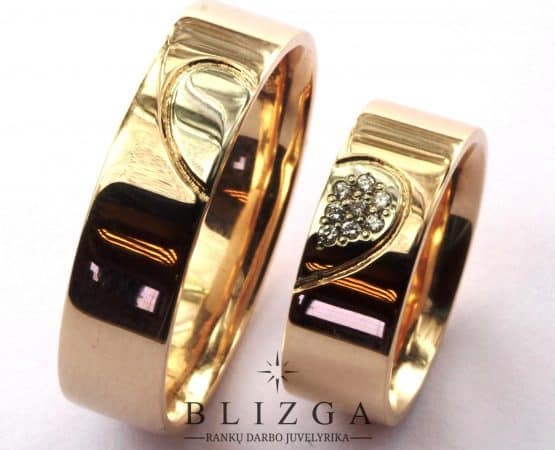 vestuviniai žiedai Cambiare