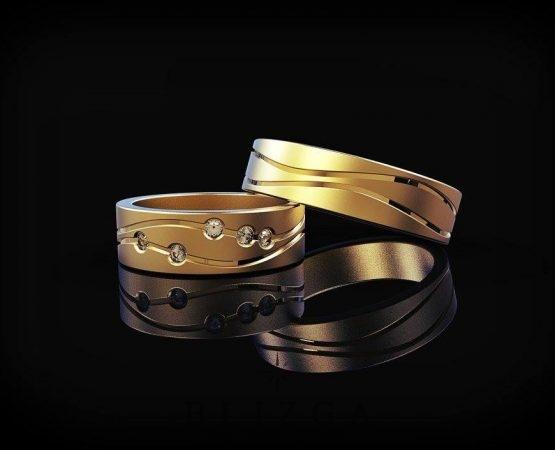 Vestuviniai žiedai Candela