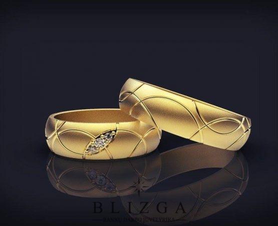 Vestuviniai žiedai Candidus