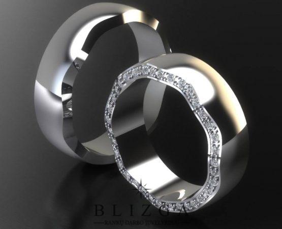 Vestuviniai žiedai Dicere