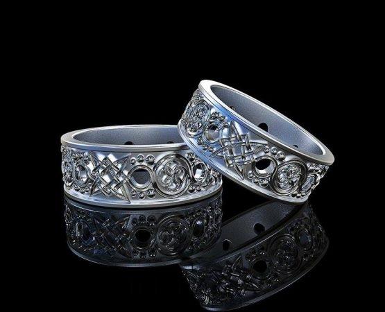 Vestuviniai žiedai Dives