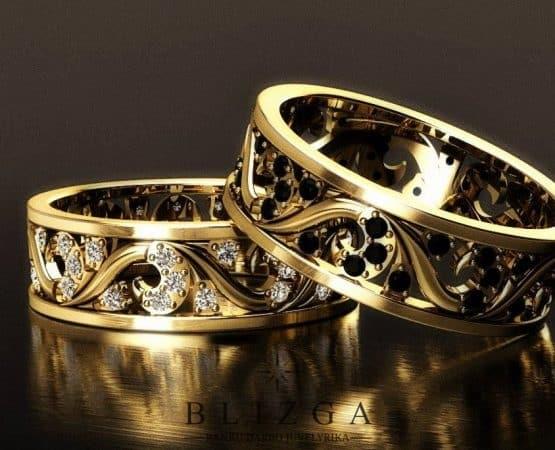 Vestuviniai žiedai Facilis