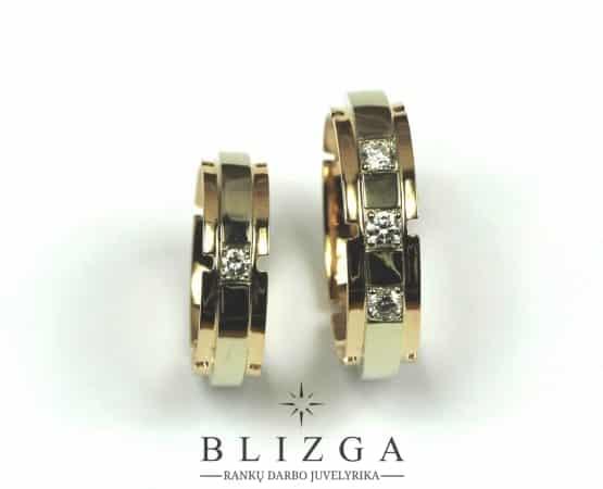 Auksiniai žiedai Ave duo