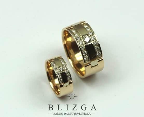 Vestuviniai žiedai Aurora
