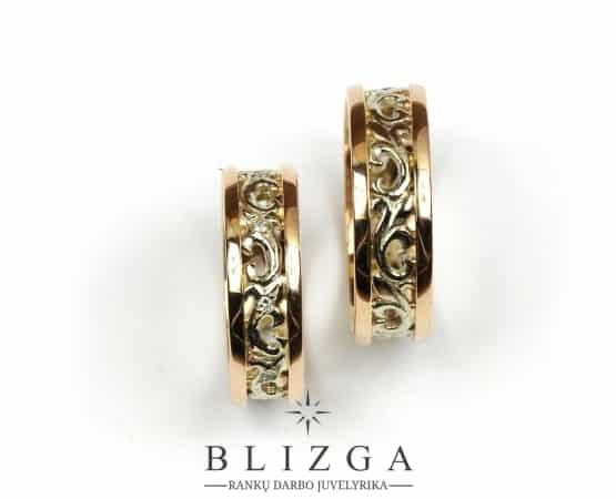 Vestuviniai žiedai Ignotus