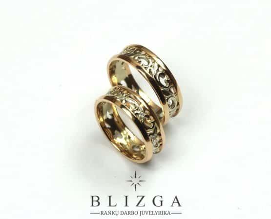 Vestuviniai žiedai Ignotus duo
