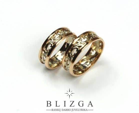 Vestuviniai žiedai Ignotus tri