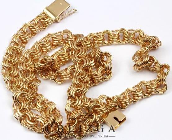 Auksinių grandinėlių gamyba
