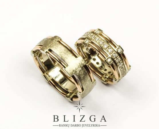 vestuviniai žiedai Iucundus duo