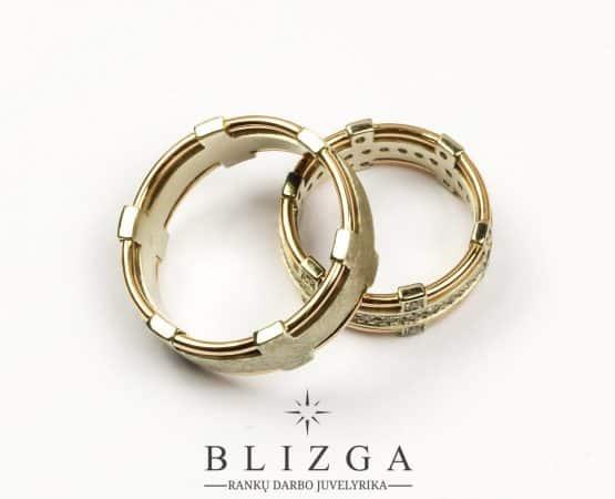 vestuviniai žiedai Iucundus tri