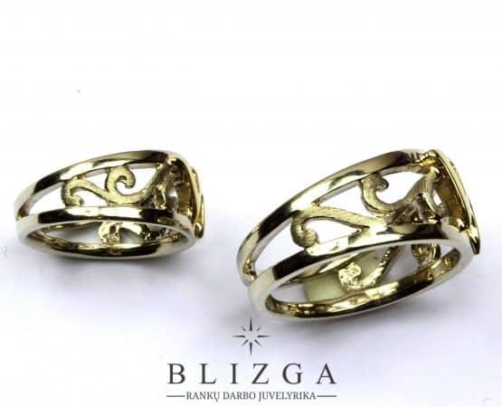 Vestuviniai žiedai Aqua