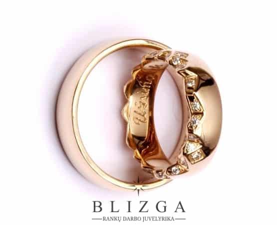 Imperium vestuvinis žiedas