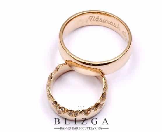 Imperium vestuvinis žiedas duo