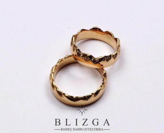 Auksiniai žiedai gamyba