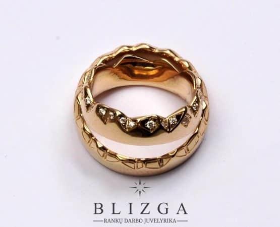 vestuviniai žiedai Anima