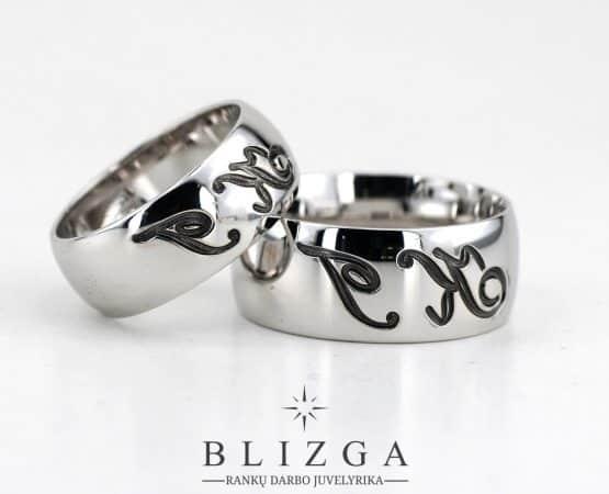 Vestuviniai žiedai Linum