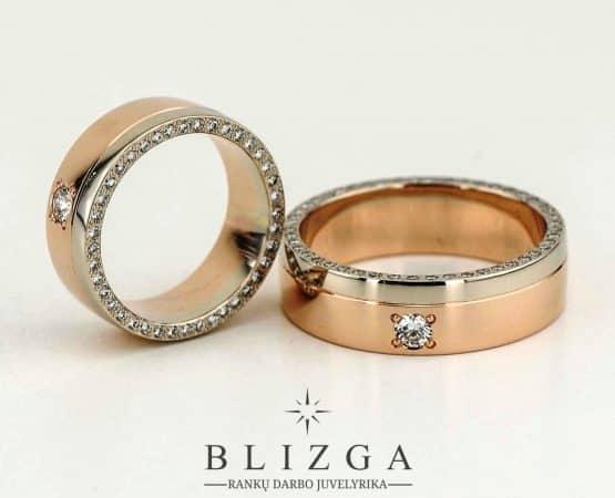 Vestuviniai žiedai Lumen
