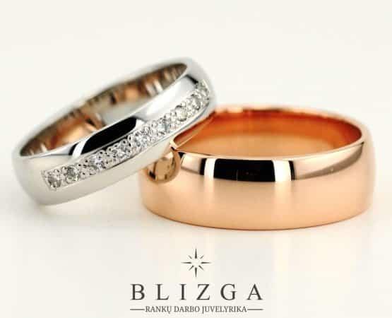 Vestuviniai žiedai Mel