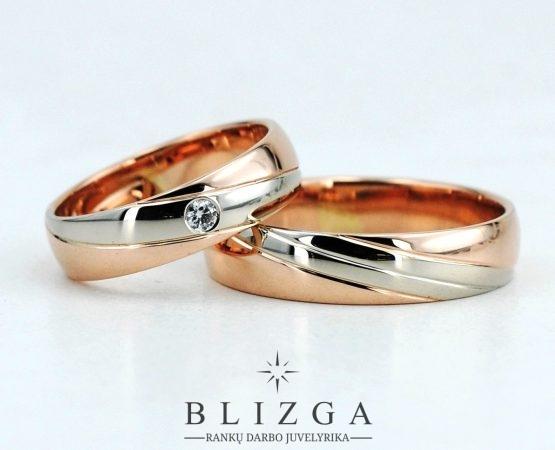 Vestuviniai žiedai Natura