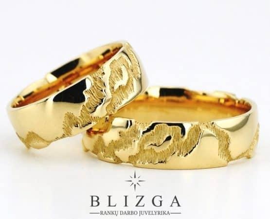 Vestuviniai žiedai Nox