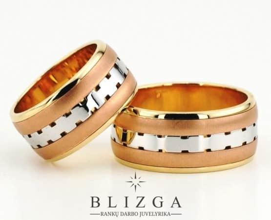 Vestuviniai žiedai Parus
