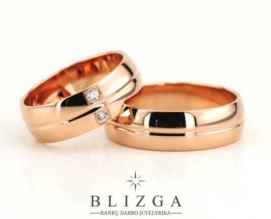 Vestuviniai žiedai Parvus