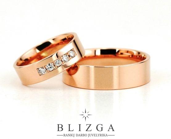 vestuviniai žiedai Picea