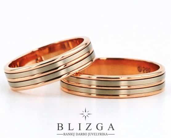 Vestuviniai žiedai Psittacus