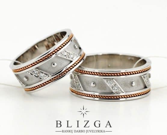 Vestuviniai žiedai Pugno