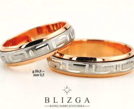 Vestuviniai žiedai Pulcher