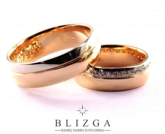 vestuviniai žiedai Albus