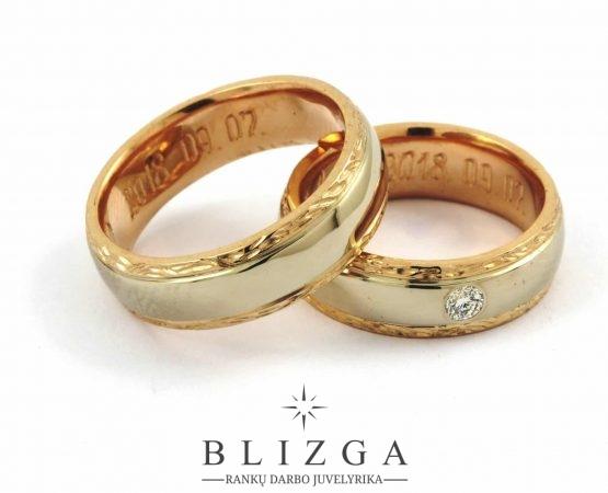 vestuviniai žiedai Aeterna