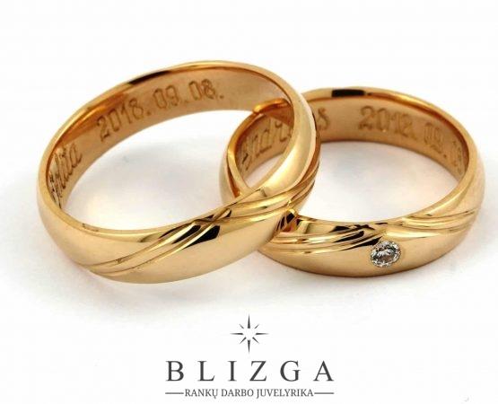 Vestuviniai žiedai Fragum