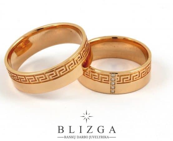 Vestuviniai žiedai Acus