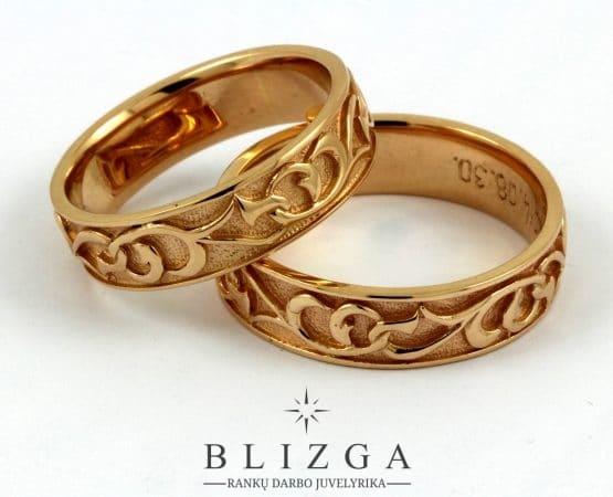 "Vestuvinis žiedas ""Accola"""