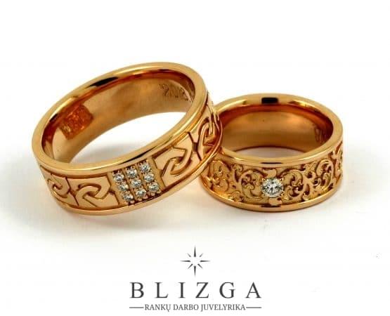 Vestuviniai žiedai Advenita