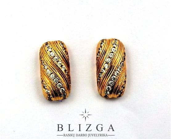 Auksiniai auskarai 7110